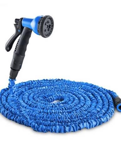 Waldbeck Flex 22, flexibilná záhradná hadica, 8 funkcií, 22.5 m, modrá