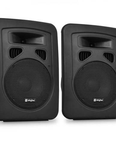 Dvojica pasívnych DJ PA reproduktorov Skytec,20 cm, 2 x 300W