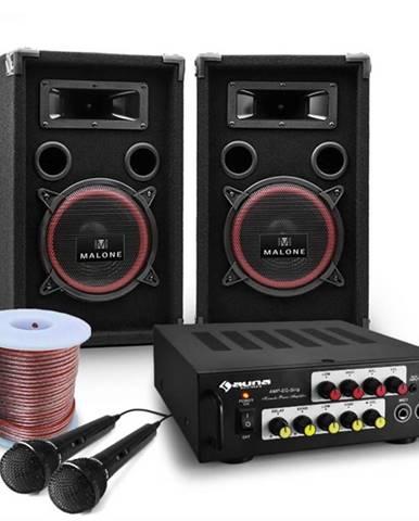 "Electronic-Star DJ PA kompletný set ""Bass Noon"" s výkonom 600 W"