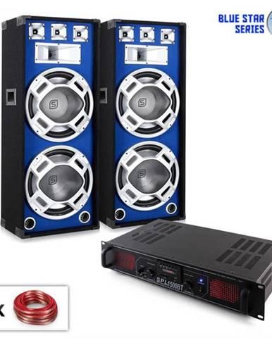 "Electronic-Star PA Set Blue Star Series ""Beatsound Bluetooth MP3"", 1500 W"