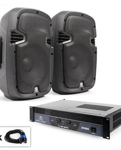 """Electronic-Star PA Set """"SPJ Boom"""", dva 8"""" reproduktory & 800 W zosilňovač"""