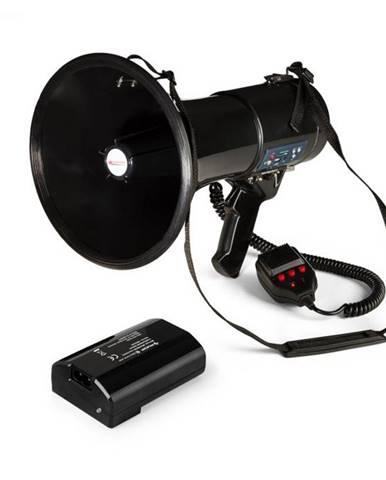 Auna MEGA080USB, megafón + batéria, set, 80 W, čierny