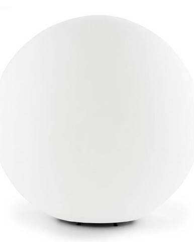 Lightcraft Shineball M, záhradné svietidlo, guľovité, 30 cm, biele