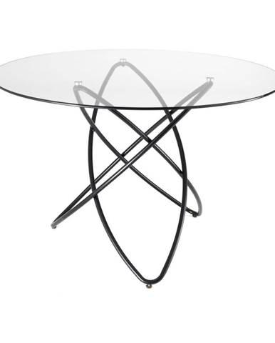 Jedálenský stôl s doskou z tvrdeného skla Tomasucci Hula Hoop, ⌀ 120 cm