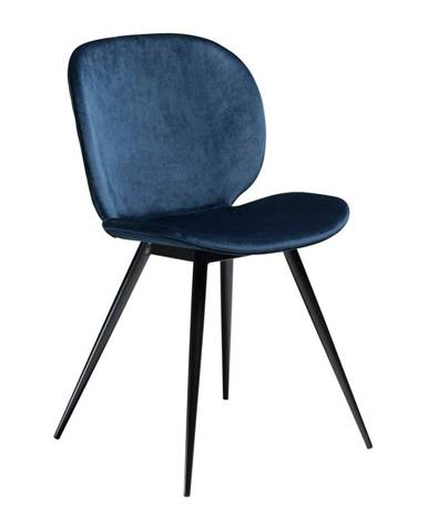 Modrá stolička DAN-FORM Denmark Cloud