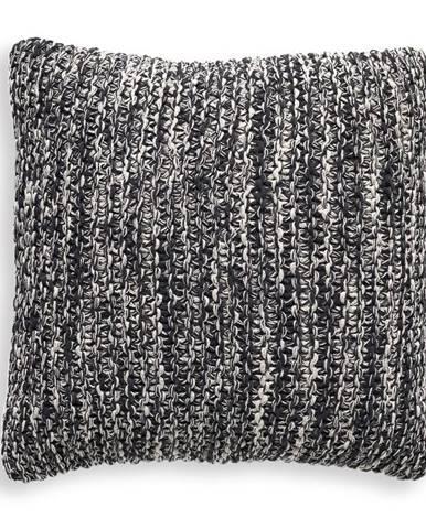 Sivý vankúš Tomasucci Blend, 45 × 45 cm