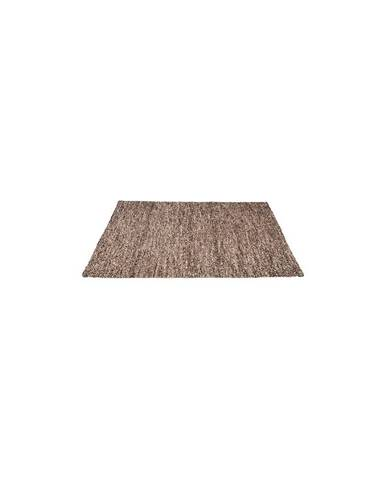 Hnedý koberec LABEL51 Dynamic, 140 x 160 cm