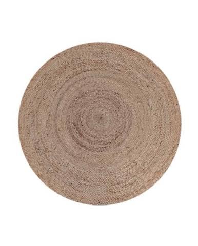 Koberec z konopného vlákna LABEL51 Natural Rug, ⌀ 150 cm
