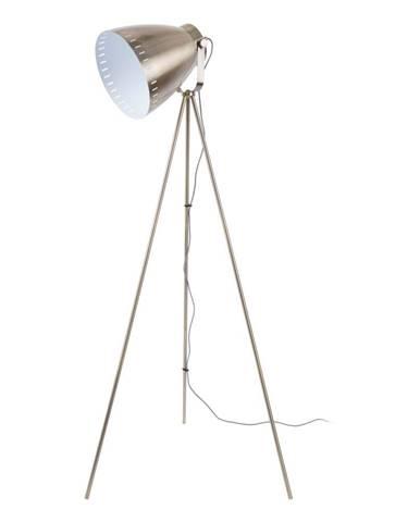 Kovová stojacia lampa v bronzovej farbe Leitmotic Luxury