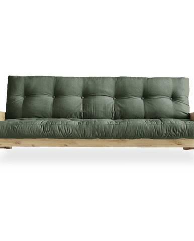 Variabilná pohovka Karup Design Indie Natural Clear/Olive Green