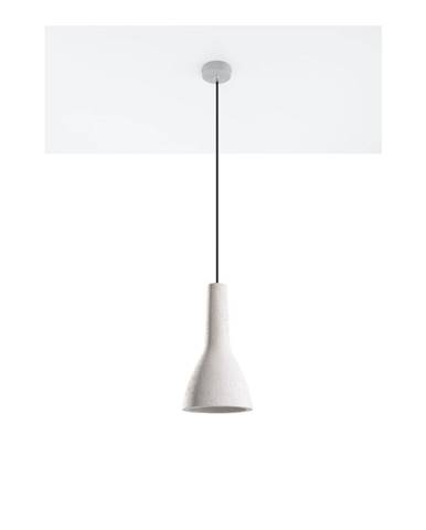 Sivé stropné svetlo Nice Lamps Mattia