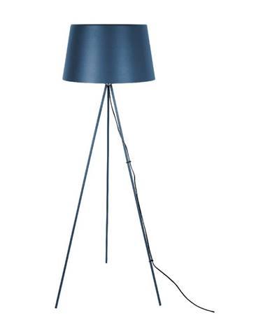 Tmavomodrá stojacia lampa Leitmotiv Classy