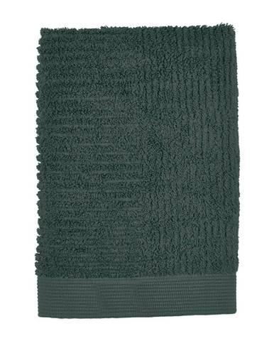 Tmavozelený uterák Zone Classic, 50×70cm