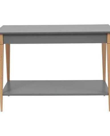 Sivý konzolový stolík Ragaba Mimo, šírka 105 cm