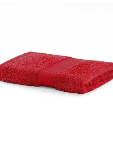 Červený uterák DecoKing Bamby, 50 × 100 cm