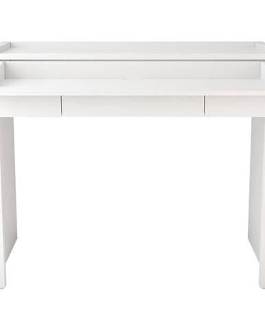Biely vysúvací písací stôlWoodman16Mel