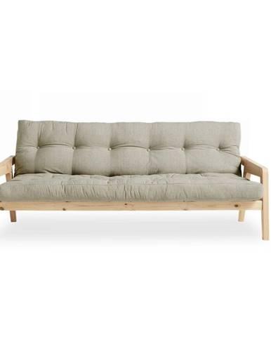 Variabilná pohovka Karup Design Grab Natural Clear/Linen Beige