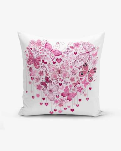 Obliečky na vaknúš s prímesou bavlny Minimalist Cushion Covers Hearty, 45×45 cm