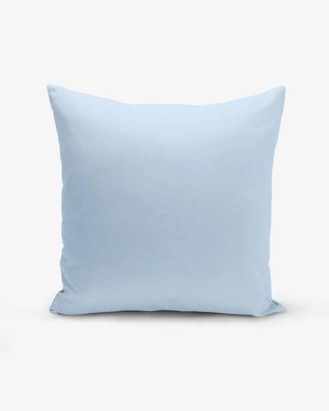 Minimalist Cushion Covers Modrá obliečka na vankúš Minimalist Cushion Covers Düz, 45 × 45 cm