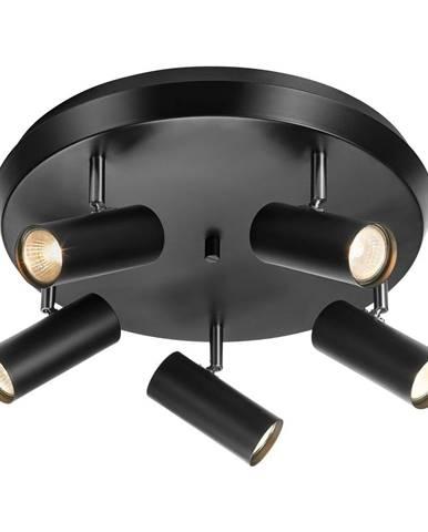 Čierne stropné svietidlo Markslöjd Torino Ceiling Black 5L