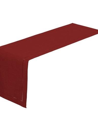 Červený behúň na stôl Unimasa, 150 x 41 cm