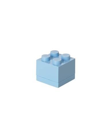 Svetlomodrý úložný box LEGO® Mini Box
