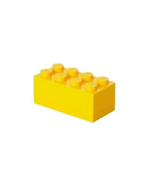 LEGO® Žltý úložný box mini LEGO®