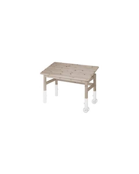 Flexa Hnedý písací stôl s náklopnou doskou Flexa Elegant