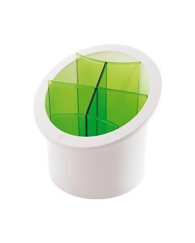 Zelený stojan na príbory Snips Cutlery