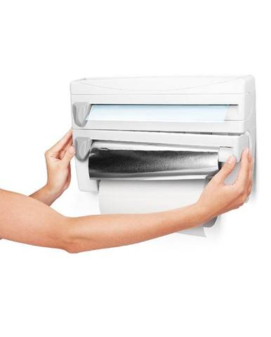 Ochranný box na kuchynské utierky a ďalšie doplnky Metaltex, dĺžka 38 cm
