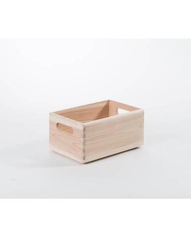 Úložný box z borovicového dreva Compactor Custom, 30×20×14 cm