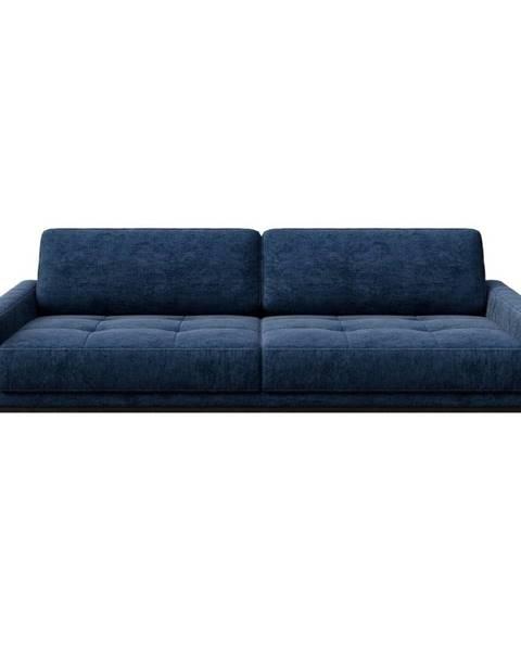 MESONICA Modrá pohovka MESONICA Musso Tufted, 210 cm