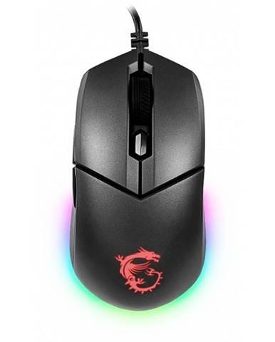 Myš  MSI Clutch GM11 čierna