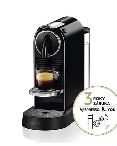 Espresso DeLonghi Nespresso Citiz EN167.B čierne