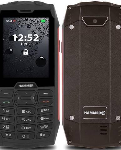 Mobilný telefón myPhone Hammer 4 Dual SIM červený