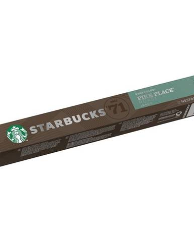 Kapsule pre espressa Starbucks NC Pike Place Roast 10Caps
