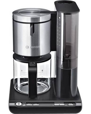 Kávovar Bosch Styline TKA8633 čierny/nerez