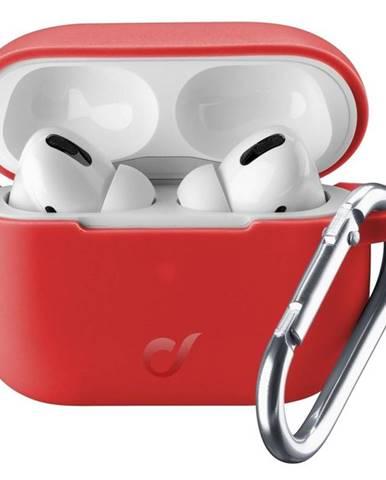 Púzdro CellularLine Bounce pro Apple AirPods Pro červené