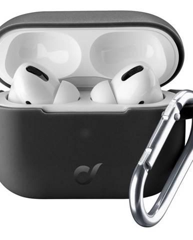 Púzdro CellularLine Bounce pro Apple AirPods Pro čierne