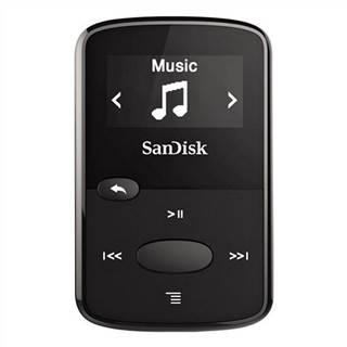 MP3 prehrávač Sandisk Sansa Clip JAM 8 GB čierny
