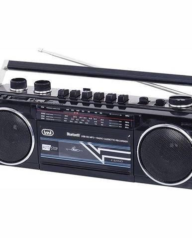 Rádiomagnetofón Trevi RR 501 BT čierny