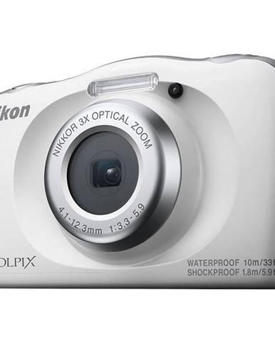 Digitálny fotoaparát Nikon Coolpix  W150 Backpack KIT biely
