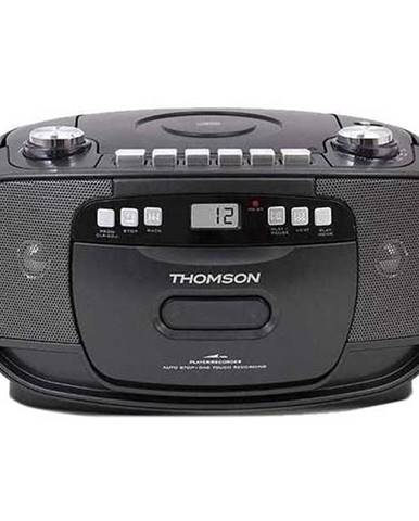 Rádiomagnetofón s CD Thomson Rk200cd čierny