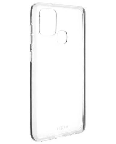 Kryt na mobil Fixed na Samsung Galaxy A21s priehľadný