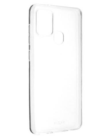Kryt na mobil Fixed Skin na Samsung Galaxy A21s priehľadný