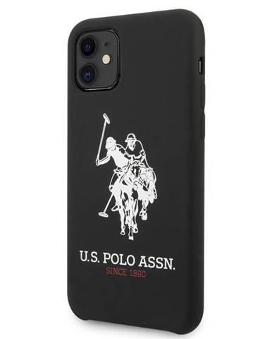 Kryt na mobil U.S. Polo Big Horse na Apple iPhone 11 čierny
