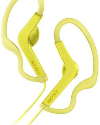 Slúchadlá Sony MDR-AS210 žltá
