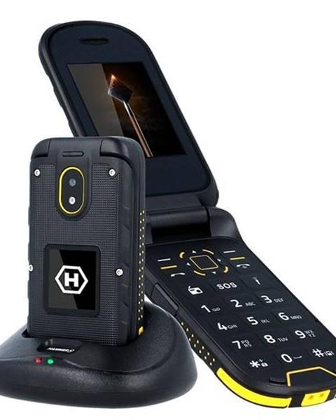 myPhone Mobilný telefón myPhone Hammer Bow Plus Dual SIM čierny/oranžový