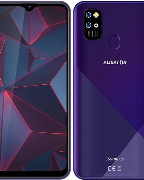 Aligator Mobilný telefón Aligator S6500 fialový