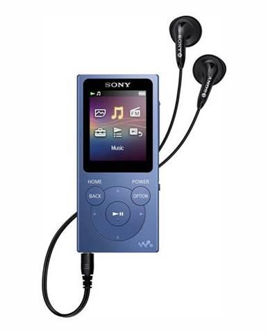 MP3 prehrávač Sony NW-E394L modr